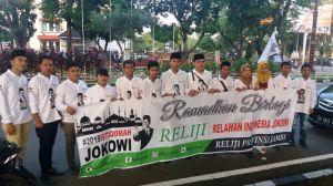 Reliji Jambi Berbagi Takjil, Masyarakat: Kami Salut Dengan Relawan Jokowi