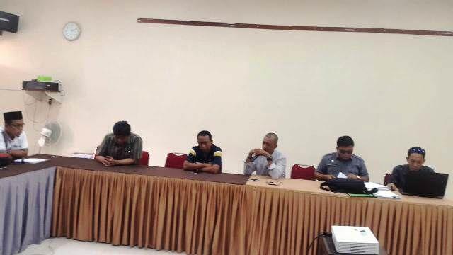 Kopi putih saat bertemu dengan KPU Provinsi Jambi baru baru ini