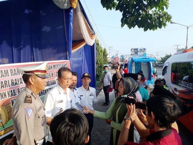 Kepala BNNK Batanghari Kompol M.Zuhairi saat diwawancarai media