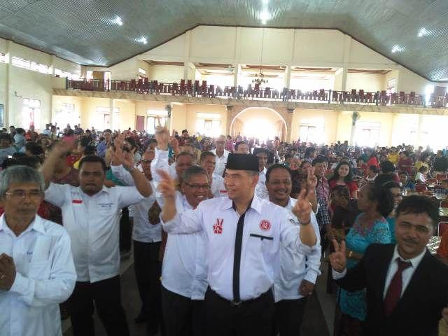 Fasha mendapatkan dukungan dari warga Batak Kota Jambi
