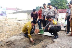 Hadiri Peletakan Batu Pertama RS Bhayangkara Mayang Mangurai, Ini Harapan Fachrori