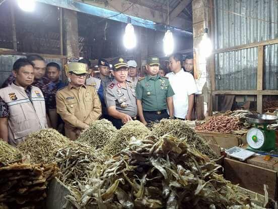 Tiga petinggi Jambi sidak ke Pasar Angso Duo Jambi