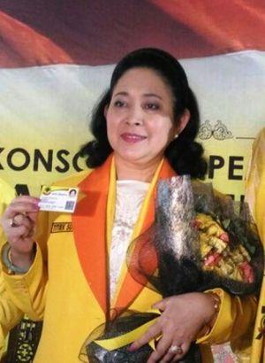 Tak BIsa Kritik Pemerintah, Titiek Soeharto Hengkang dari Golkar Bergabung ke Partai Berkarya