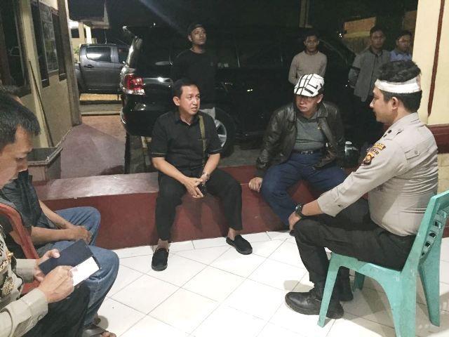 Kapolda Jambi Brigjen Pol Muchlis AS berada di Mapolsek Mandiangin
