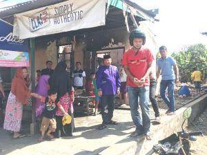 Maulana Berikan Dukungan ke Korban Kebakaran di Rawasari