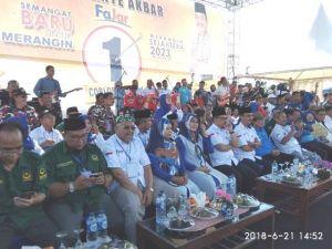 Hadir di Kampanye Akbar Fajar, MS Kaban: Pilih Pemimpin Cerdas dan Bersih