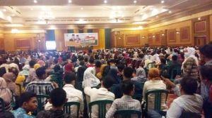 2.200 Saksi FM Berkumpul Dengar Arahan KPU dan Panwaslu