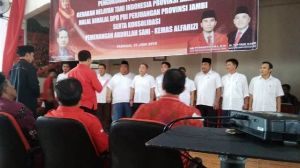 Tafyani Kasim Pimpin Sayap PDI Perjuangan Gerakan Tani Nelayan Indonesia Wilayah Jambi