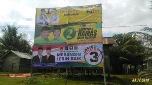 KPU : Seluruh Alat Peraga Kampanye Dicabut