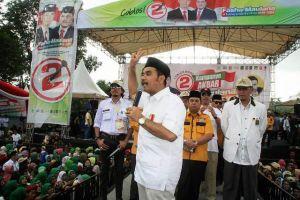 Hadiri Kampanye Fasha - Maulana,  SAH Ajak Pemilih Wujudkan Pilkada Damai