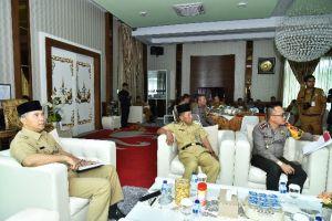 Pastikan Pilwako Sukses, Wali Kota Fasha Pimpin Rakor Pilkada