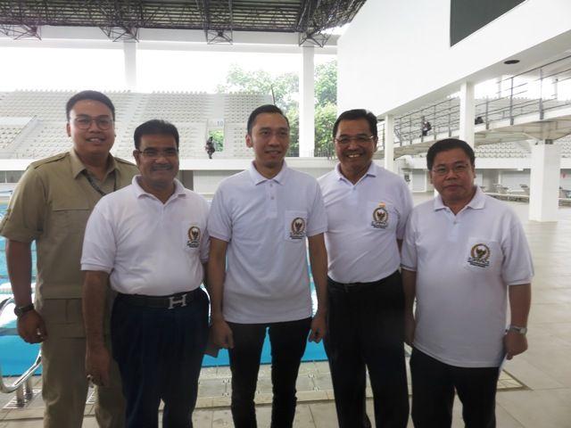 SAH bersama AHY dalam persiapan Asian Games