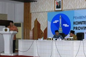 KAD Anti Korupsi Provinsi Jambi Dibentuk, Fachrori: Ingatkan Kami Jika Lakukan Pelanggaran Hukum