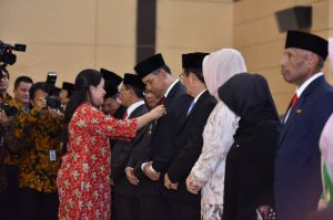 Penghargaan dari Presiden, Fasha Raih Satyalencana Pembangunan, Yuliana Raih Pakarti Madya I