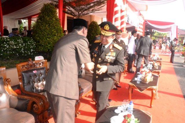 Kapolda di sela acara HUT Bhayangkara