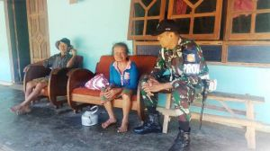 Provost Ikut Andil Dalam Pengamanan Satgas TMMD