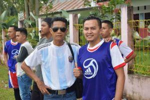Dorong Generasi Muda Gemar Olahraga, Sakirin Pohan Sponsori Turnamen Bola