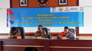Wahyudin Lepas Kontingen Disabilitas Jambi yang akan Bertanding di Provinsi Riau