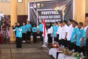 Diskepora Provinsi Jambi Gelar Festival Baris-berbaris bagi Pelajar Tingkat SMA/SMK