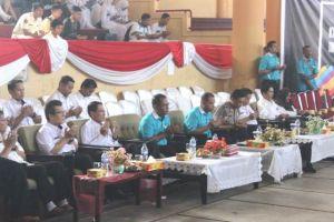 Festival Baris Berbaris Pelajar SMA/SMK/MAN se Kota Jambi Resmi Dibuka