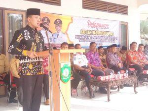 Wabup Lepas Rombongan Kafilah Ikuti MTQ Tingkat Provinsi Jambi