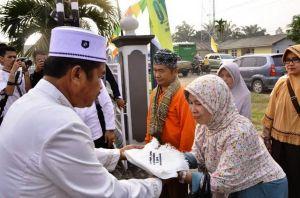 Staf Ahli Sambut Kedatangan Kafilah MTQ dari Kerinci