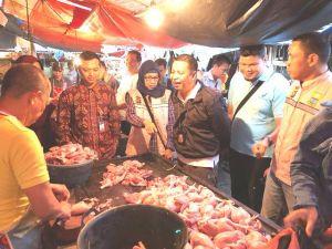 Harga Daging Ayam Tembus Rp 55.000 Rupiah, Begini Kata Pemprov dan Satgas Pangan Jambi