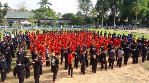 Pencak Silat  Akan Tampil  Pada Penyambutan Obor Asian Games di Kantor Gubernur