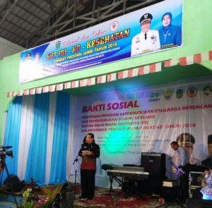 Pencanangan Bakti Sosial IBI Provinsi Jambi dan IBI Cabang Kota Sungai Penuh