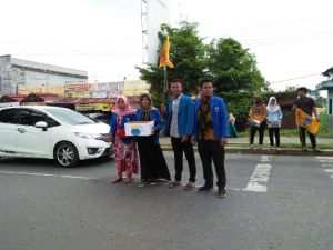 PMII Merangin Galang Dana Bencana Lombok