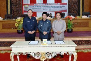 Dewan Setujui Perubahan RPJMD Provinsi Jambi