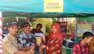 Stand Bazar UMKM Ramaikan Penutupan TMMD Kodim 0714/Salatiga