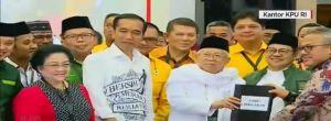 Resmi Mendaftar di KPU, Ini Pidato Lengkap Jokowi