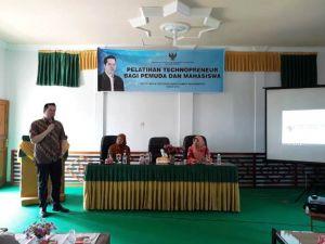 Ihsan Yunus Berikan Materi Technoprenueur di Batanghari