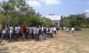 Puluhan Pelajar SMAN 7 Muaro Jambi Demo Kepsek, Ini Tuntutannya