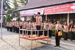 Upacara Peringatan Hari Pramuka ke 57 di Batanghari Berlangsung Sukses