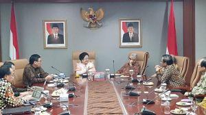 Megawati dan Mahfud Rapat Bersama