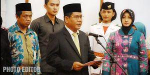 Wahyuddin Pinta Anggota Paskibraka yang Dikukuhkan Bisa Fokus dan Sukses Dalam Bertugas