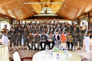 Drum Corps Satpol PP Juara, Bupati Syahirsah Sambut Dengan Syukuran