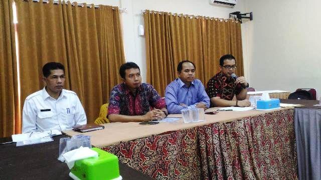 Nazori (tiga dari kanan) saat rapat koordinasi