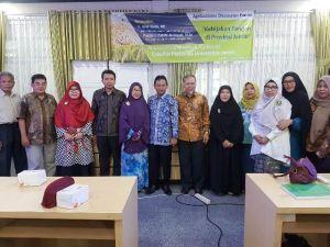 Forum Diskusi Agribisnis UNJA Hadirkan Kadis Ketahanan Pangan Provinsi Jambi