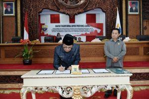 DPRD Provinsi Jambi- Pemprov Jambi KUA PPAS Perubahan APBD 2018