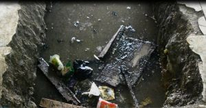 Pedagang Keluhkan Lambatnya Pembangunan Ulang Drainase PTM Bungo