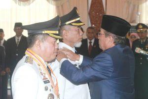 Setelah Dilantik, Al Haris dan Mashuri Diminta Selesaikan Soal PETI di Merangin
