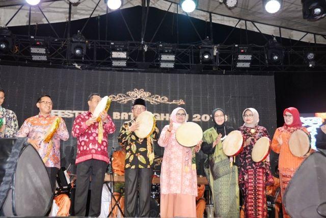Suasana Festival Batanghari