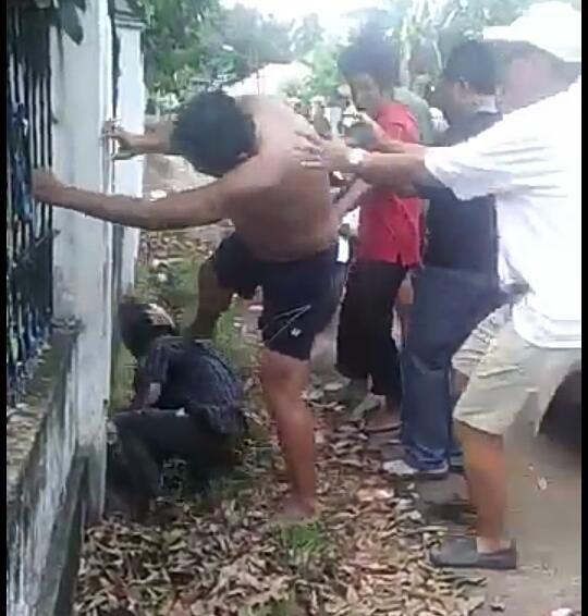 Aksi Brutal Salah Satu Oknum Pegawai Pemprov Jambi