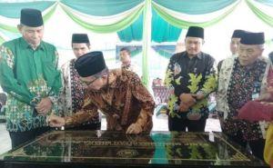 Bupati Bungo Resmikan Gedung STKIP Muhammadiyah Muara Bungo