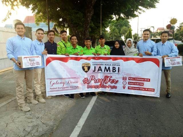 GMD menggalang dana untuk korban gempa di Palu