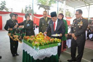 Upacara HUT TNI ke-73, Fachrori: TNI, Polri, Pemerintah dan Masyarakat Merupakan Kekuatan Bangsa