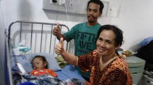 Pulihkan Kesehatan Warga Jambi Korban Gempa Palu di RSU Abdul Manap,Rudy: Pasien Tak Dikenakan Biaya